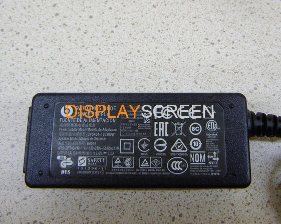 original New B0514 DYS404-120300W for Beats Pill XL Charger