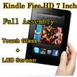 Replacement Touch Glass and LCD Screen Full Assembly For Amazon Kindle Fire HD 7