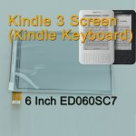 New E-ink Screen PVI ED060SC7 Replacement for Ebook reader Amazon Kindle 3 K3 Kindle Keyboard D00901