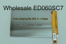 Wholesale Original A+ PV ED060SC7 (LF)C1 For Kindle Keyboard E Ink Display Free shipping By DHL 3-4 Days