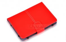 PU Leather Red 7 Inch Folio Case Cover For Google Nexus 7 Asus Tablet