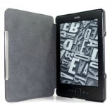 Leather Smart Case Cover Magnetic Buckle Standar For Amazon Kindle 4/5