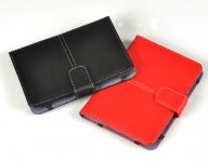PU Leather Book Style Case Cover With Buckle For Amazon Kindle Touch