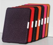 PU Leather Book Style Case Cover Magnetic Smart Buckle For Amazon kindle paperwhite