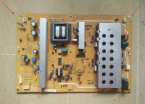 Original DUNTKE399WE Sharp Power Board