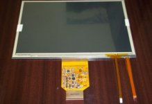 LMS700KF07 7 inch Industrial LCD Panel Display Screen 800*480