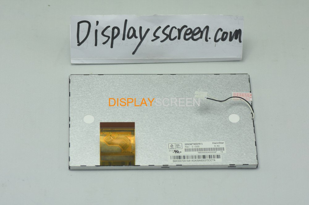 "Original HSD070IDW1-G00 HannStar Screen 7.0"" 800*480 HSD070IDW1-G00 Display"