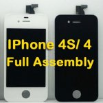 Touch Screen Digitizer and LCD Screen Full Assembly Replacement For iPhone 4 iPhone 4S