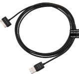 Black USB Charger Cable Data Sync 40 inches / 1.02m For iPhone iPod Nano Touch