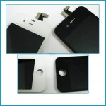 New Replacement LCD Display+Touch Screen Digitizer Glass +Frame for iPhone 4s