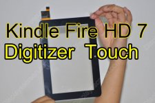 Touch Screen Digitizer Glass Replacement for Kindle Fire HD 7 Inch