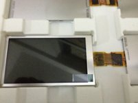 "Original 990000738 TPO Screen 3.5"" 320x240 990000738 Display"