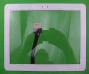 White Touch Screen Digitizer Glass Replacement for Samsung Galaxy Tab 10.1 P7500 P7510 touch