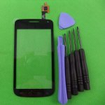 Replacement New Touch Screen Digitizer Glass Len for Samsung T679 Exhibit II 4G Black