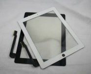 Original LCD Touch Screen Digitizer Glass Lens Replacement For Apple iPad 3 Touch Screen