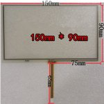 Brandnew 6 inch Touch Screen 150*90mm for GPS Avigraph Car DVD LCD Screen