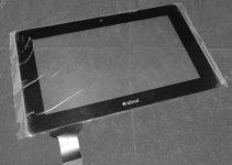 REplacemet 7.0 inch for Ainol Novo 7 Elf Edition Tablet PC touch screen digitizer Black