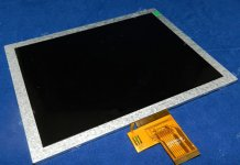 Replacement innnolux EJ080NA-04B C 8 inch LCD display panel for Tablet PC
