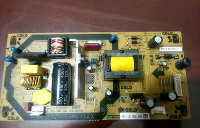 Original DUNTKG316 Sharp QPWBFG316WJN2 Power Board